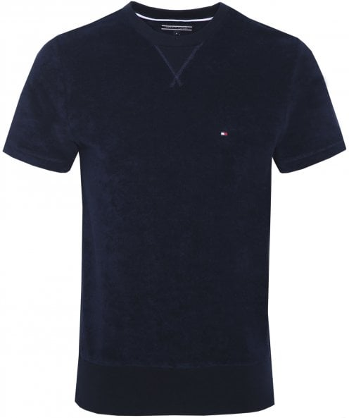 Tommy Hilfiger Crew Neck Towelling T-Shirt