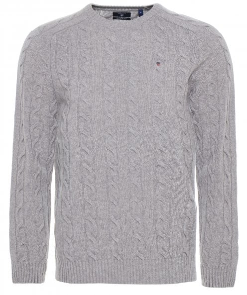 Gant Lambswool Cable Knit Jumper