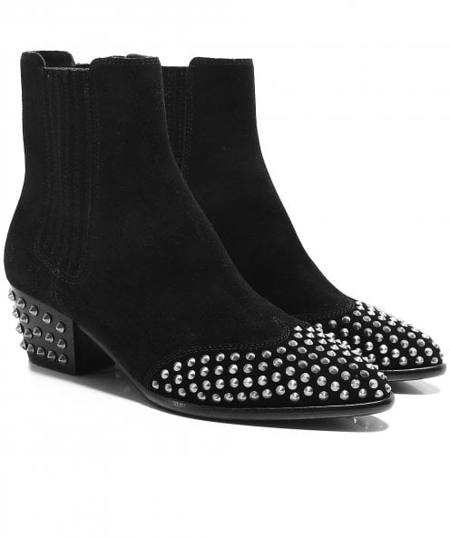 Ash Hook Studded Ankle Boots