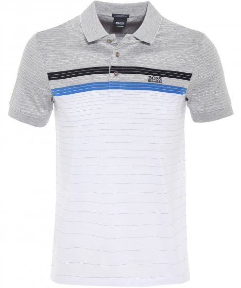 BOSS Athleisure Regular Fit Mercerised Cotton Paddy 3 Polo Shirt
