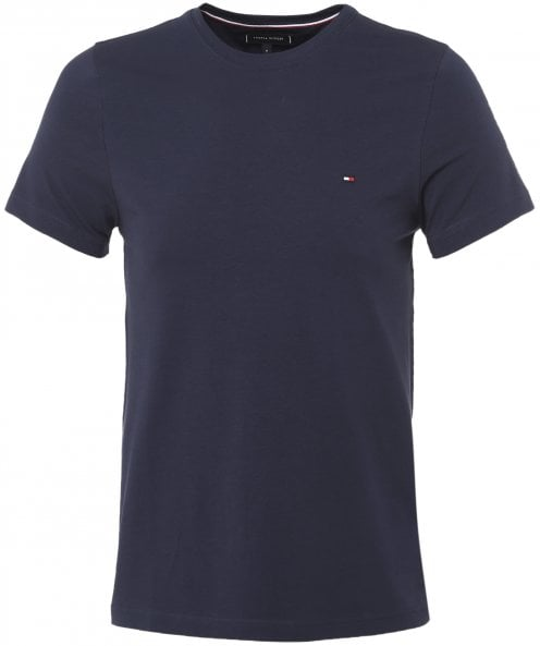 Tommy Hilfiger Stretch Jersey Crew Neck T-Shirt