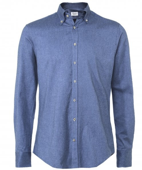 Stenstroms Fitted Body Twill Woven Shirt