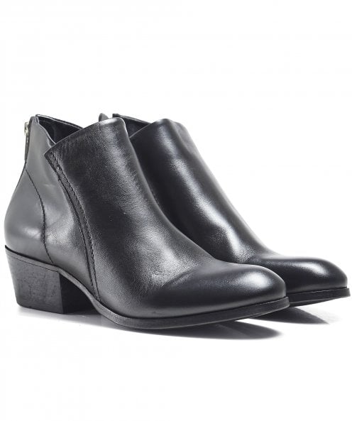 Hudson London Apisi Leather Ankle Boots