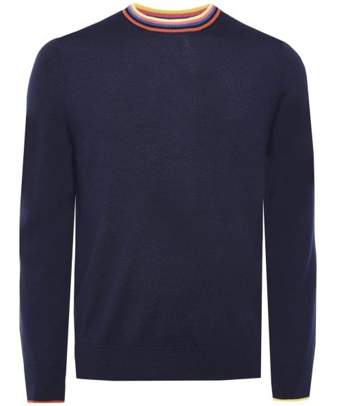 Paul Smith Merino Wool Artist Stripe Jumper