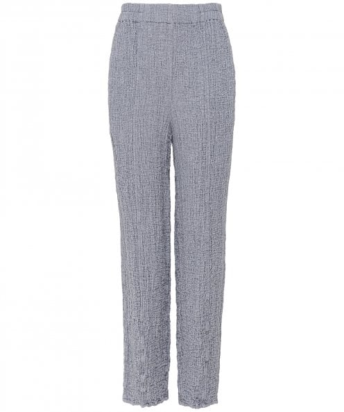 Grizas Wool Waffle Cropped Trousers