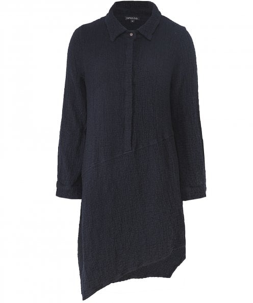 Grizas Wool Asymmetric Tunic