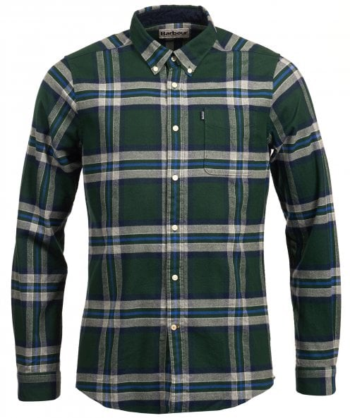 Barbour Tailored Fit Highland Check Endsleigh Shirt