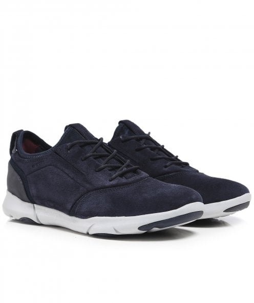Geox Suede Nebula S D Trainers