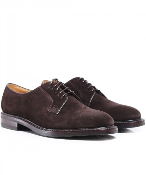 Loake Suede Derby Shoes