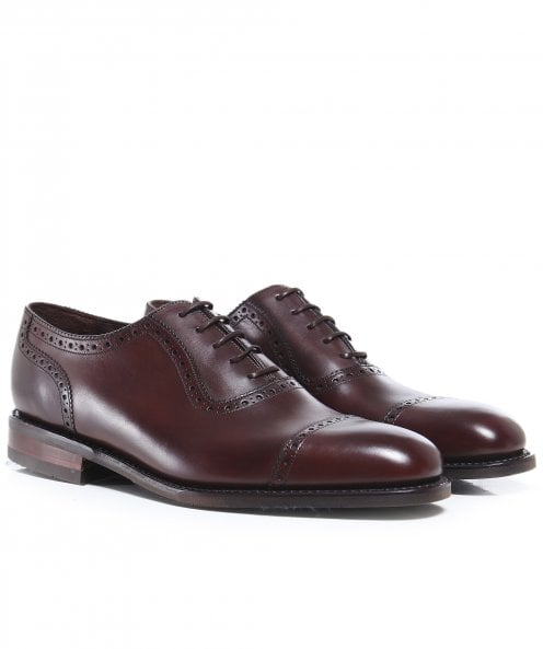 Loake Leather Fleet Oxford Shoes