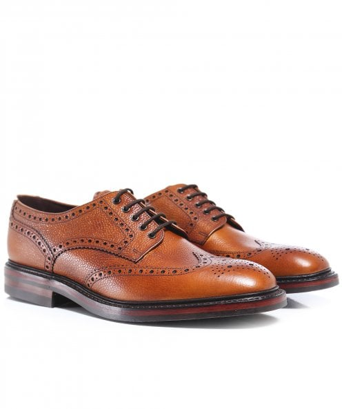 Loake Leather Badminton Brogues