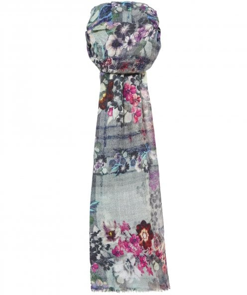 Ahujasons Secret Garden Print Scarf