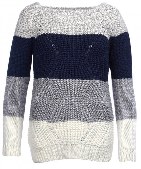 Barbour Wool Blend Padstow Knitted Jumper