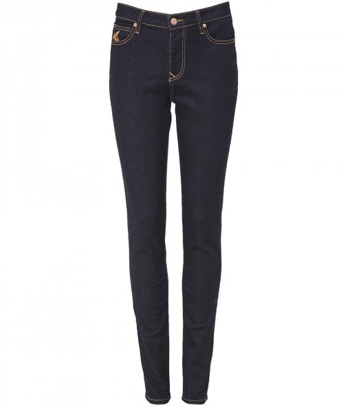 Vivienne Westwood Anglomania Slim Fit High Waisted Jeans
