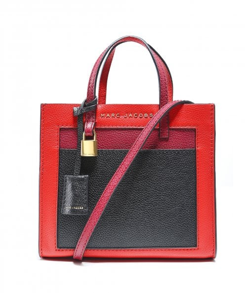 Marc Jacobs Mini Grind Colour Block Shoulder Bag