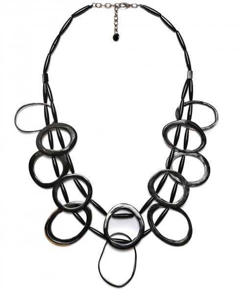 Zen Jewellery Irregular Circle Necklace