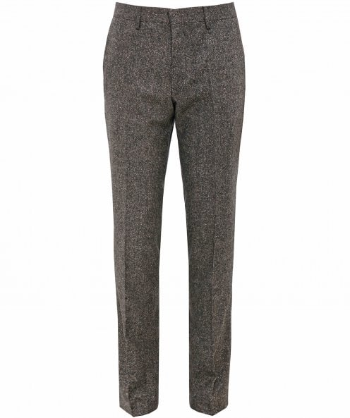 BOSS Slim Fit Giro5 Tweed Trousers