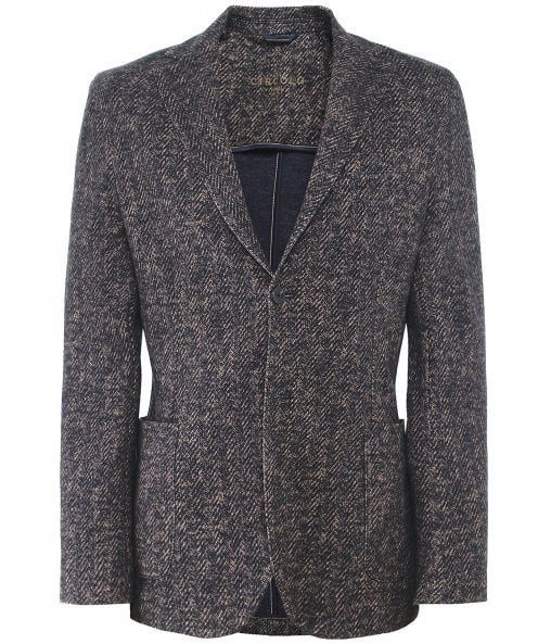 Circolo 1901 Cotton Herringbone Jacket
