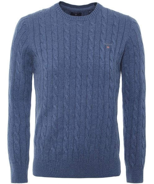 Gant Cotton Cable Knit Jumper