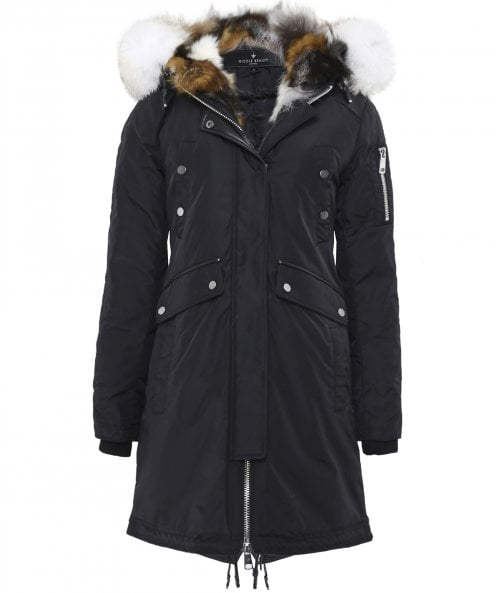 Nicole Benisti Madison Fur Trim Parka