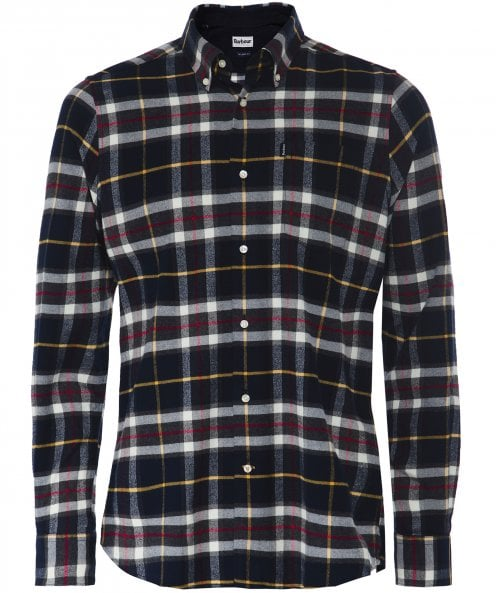 Barbour Tailored Fit Check Stapleton Castlebay Shirt