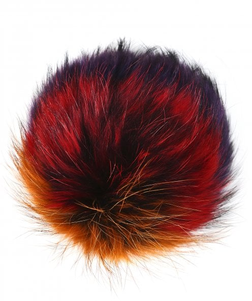 BKLYN Rainbow Fur Pom Pom
