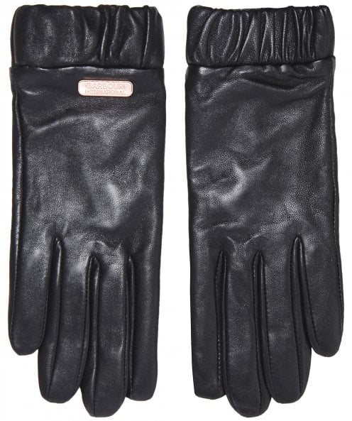 Barbour International Latch Leather Gloves