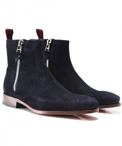 Jeffery-West Suede Vamp Hunger Boots
