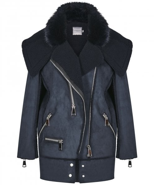 Urbancode Faux Shearling Avalon Coat