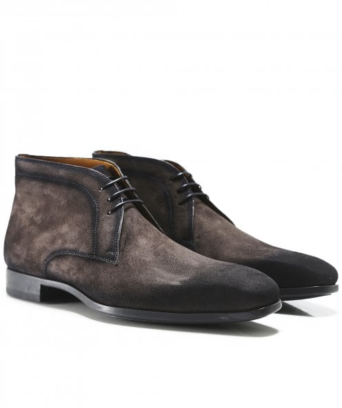 Magnanni Suede Chukka Boots