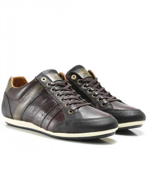 Pantofola d'Oro Leather Allassio Trainers