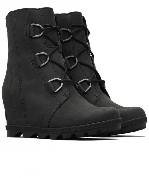 Sorel Nubuck Leather Joan of Arctic Wedge Boots