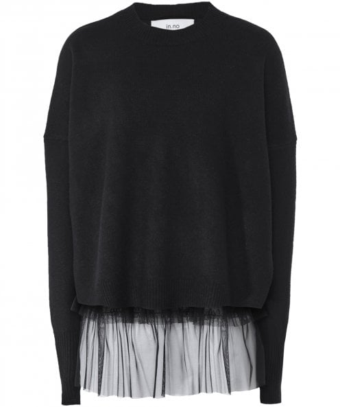 in.no Opera Tulle Frill Layered Jumper