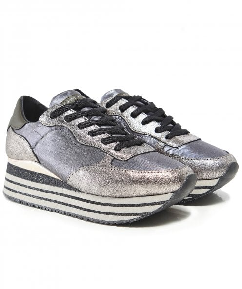 Crime London Glitter Dynamic Trainers