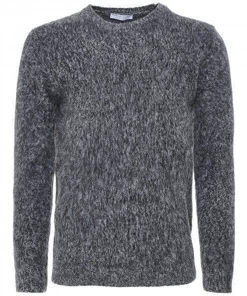 Filippo De Laurentiis Mohair Wool Crew Neck Jumper