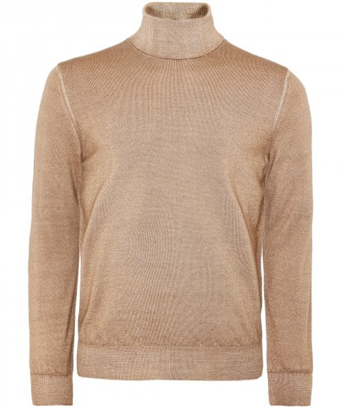 Filippo De Laurentiis Extrafine Merino Wool Roll Neck Jumper