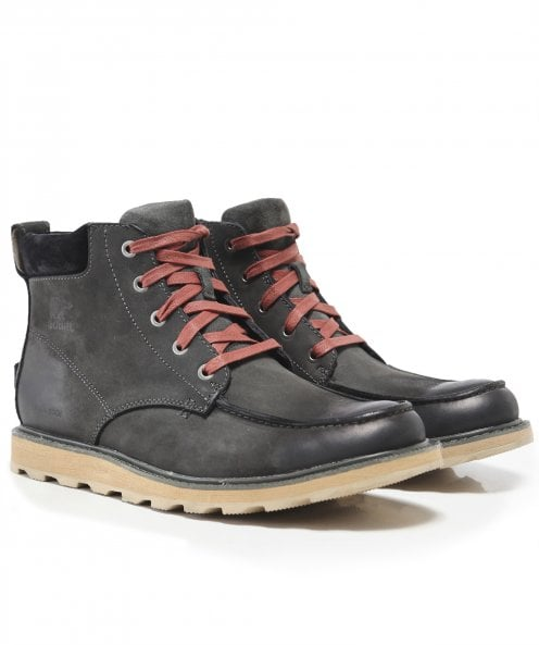 Sorel Nubuck Leather Madson Boots
