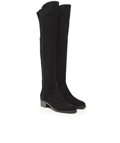 Le Pepe Suede Knee High Boots