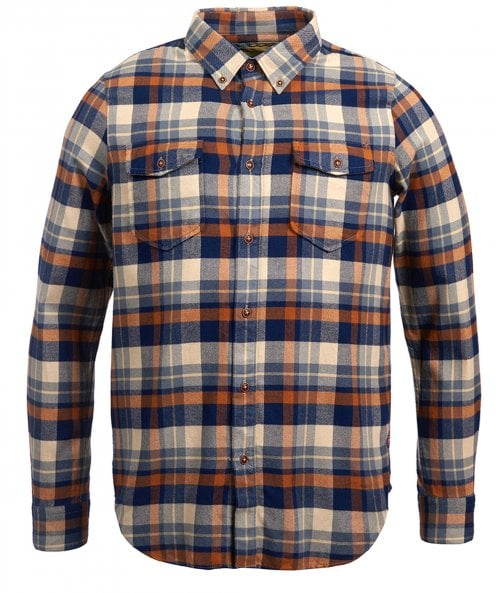Barbour International Slim Fit Check Cutter Shirt