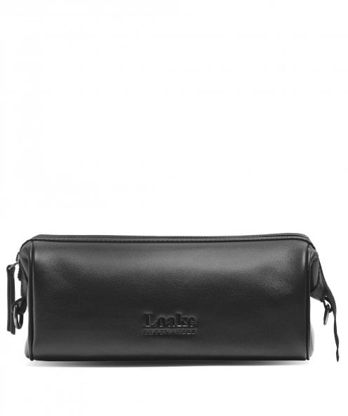Loake Leather Thames Wash Bag