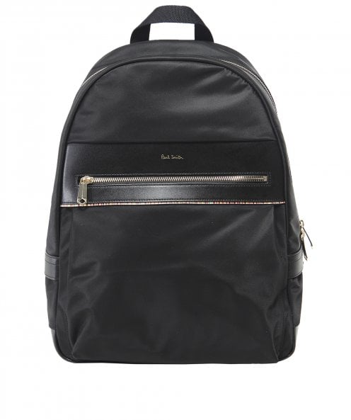 Paul Smith Signature Stripe Trim Backpack