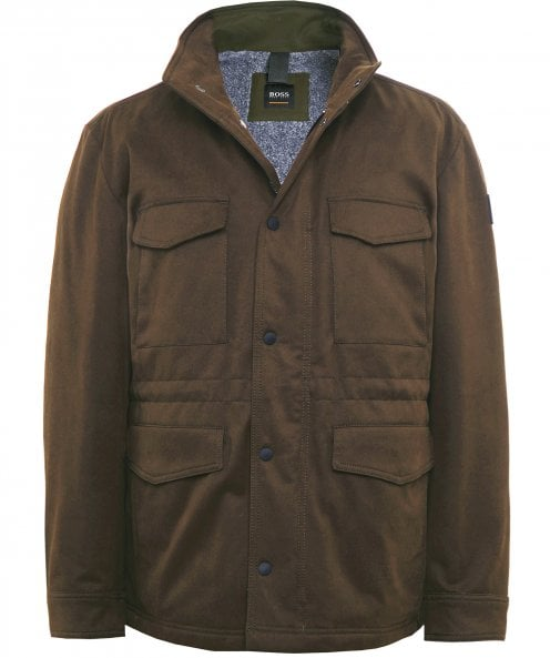BOSS Water Repellent Oroy Field Jacket