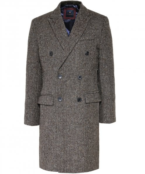 Magee Lambswool Herringbone Arranmore Coat