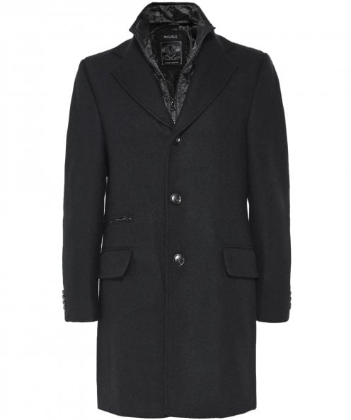 Rino and Pelle Wool Blend Lymen Coat