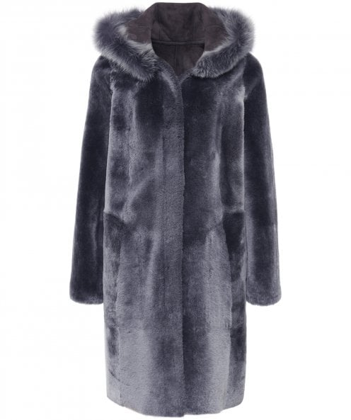 Dom Goor Chamnay Swing Reversible Coat
