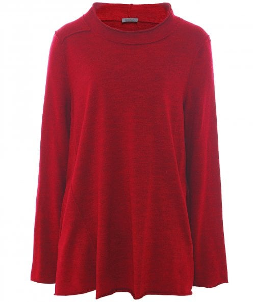 Oska Virgin Wool Surun Long Sleeve Top