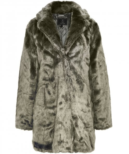 Rino and Pelle Tylia Faux Fur Coat