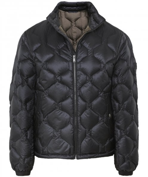 BOSS Quilted Down Darrik Bomber Jacket
