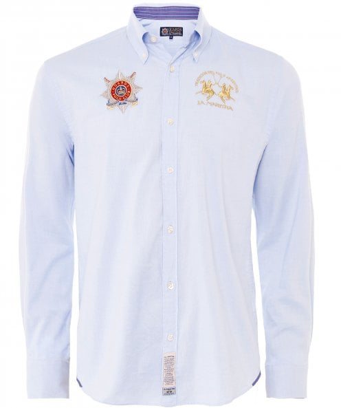 La Martina Regular Fit Oxford Vito Shirt