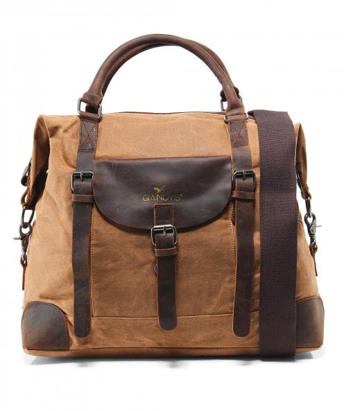 Gandys Waxed Standard Weekend Bag